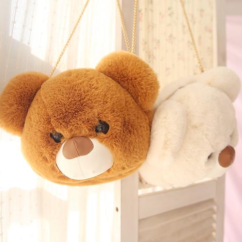 Plush Teddy Bear Bag