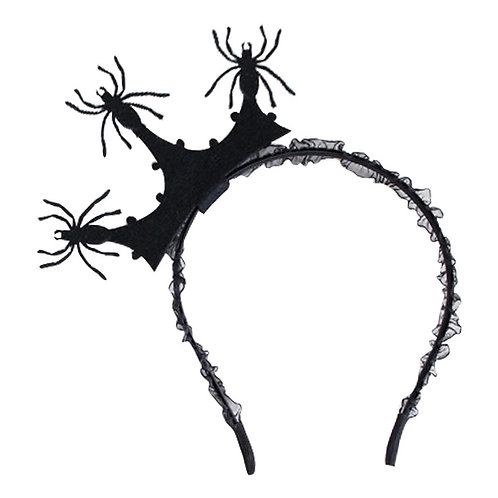 Spider Crown Headband