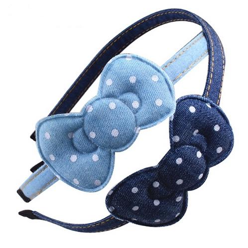 Denim Hello Kitty Headband