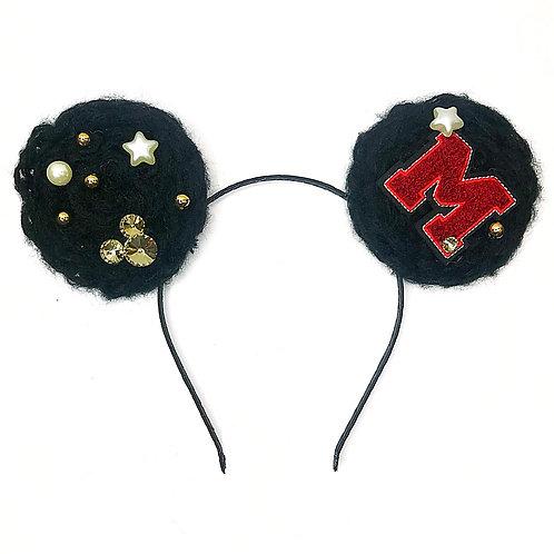 Minnie Varsity Wool Headband