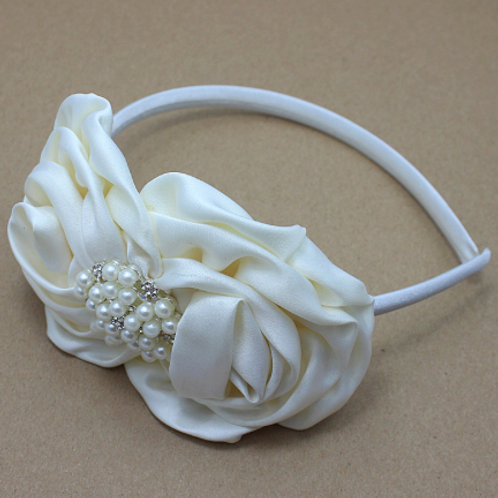 Satin Embellished Headband