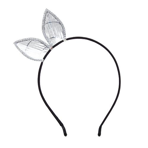 Rhinestone Rabbit Ear Headband