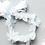 Thumbnail: Embellished Chiffon Flower Ribbon Tie