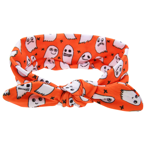 Ghost Print Tied Headband
