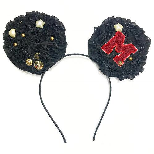 Minnie Ruffle Varsity Headband