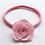 Thumbnail: Felt Rose Nylon Headband