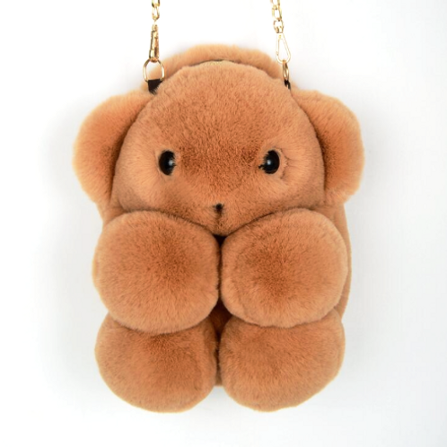 Full Plush Bear Bag
