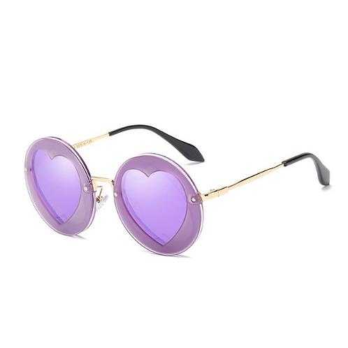 Round Heart Sunglasses