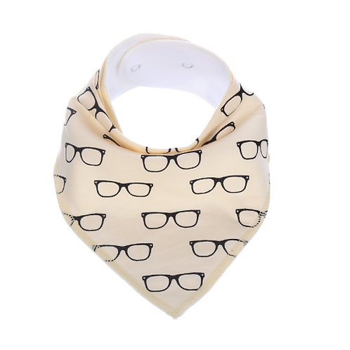 Glasses Bandana Bib