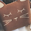 Thumbnail: Suede Kitty Coin Purse