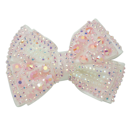 Embellished Bow Hair Clip - Set Of 2