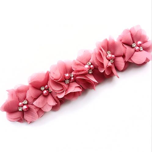 Chiffon Floral Crown