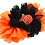 Thumbnail: Embellished Pumpkin Elastic Headband