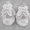 Thumbnail: Butterfly Pearl Baby Shoes