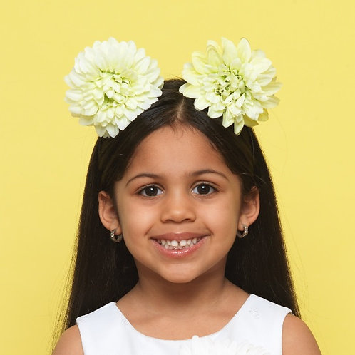Chrysanthemums Floral Headband