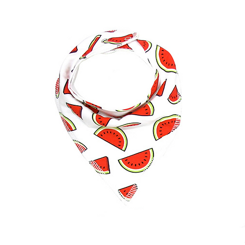Red Watermelon Bandana Bib