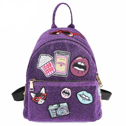 Purple Shimmer Blast Backpack