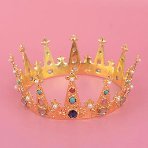Vintage Gold Crown
