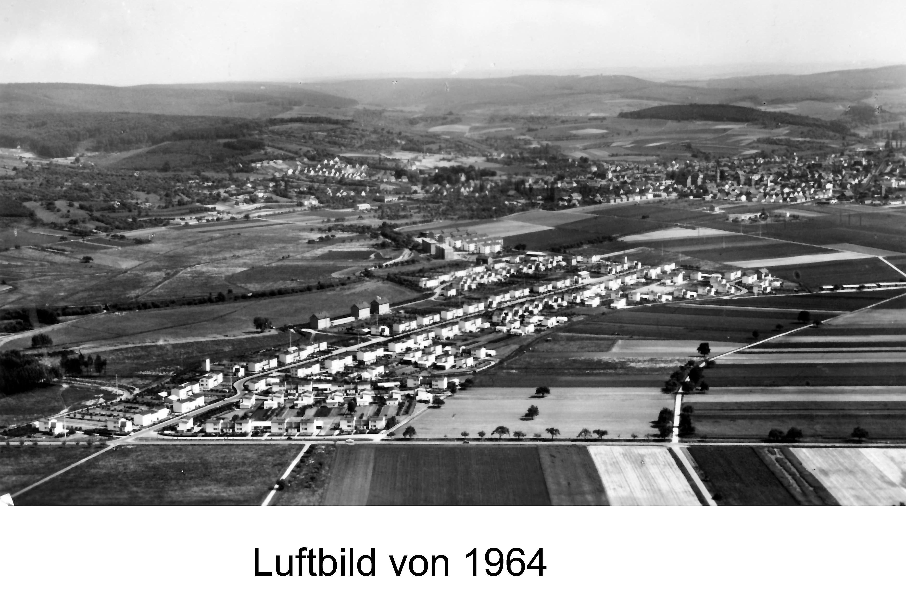 Luftbild 1964