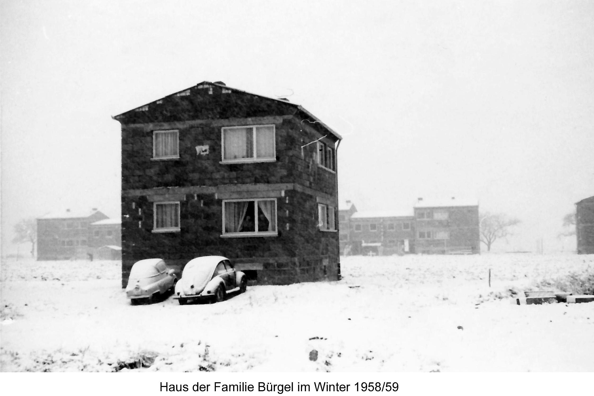 Fam. Bürgel 1958