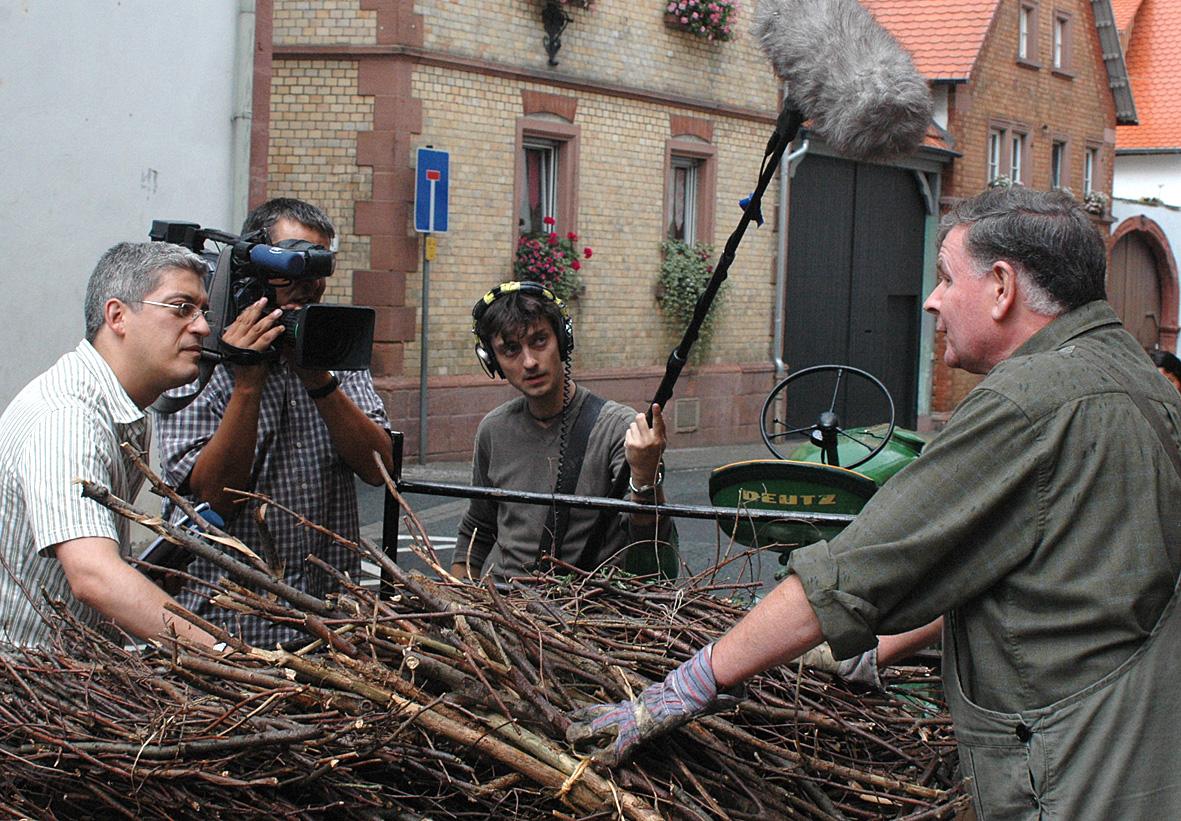 Besuch vom Hessischen Rundfunk