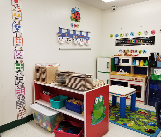 Four and Five Year Old Room