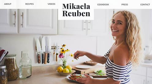 Mikaela Reuben | Culinary Nutrition Consultant & Chef