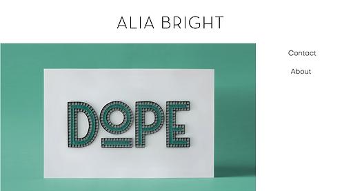 Alia Bright | Lettering & Paper Artist