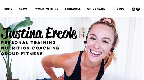 Justina Ercole | Personal Trainer & Nutrition Coach
