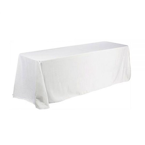 Long Table with White Drape