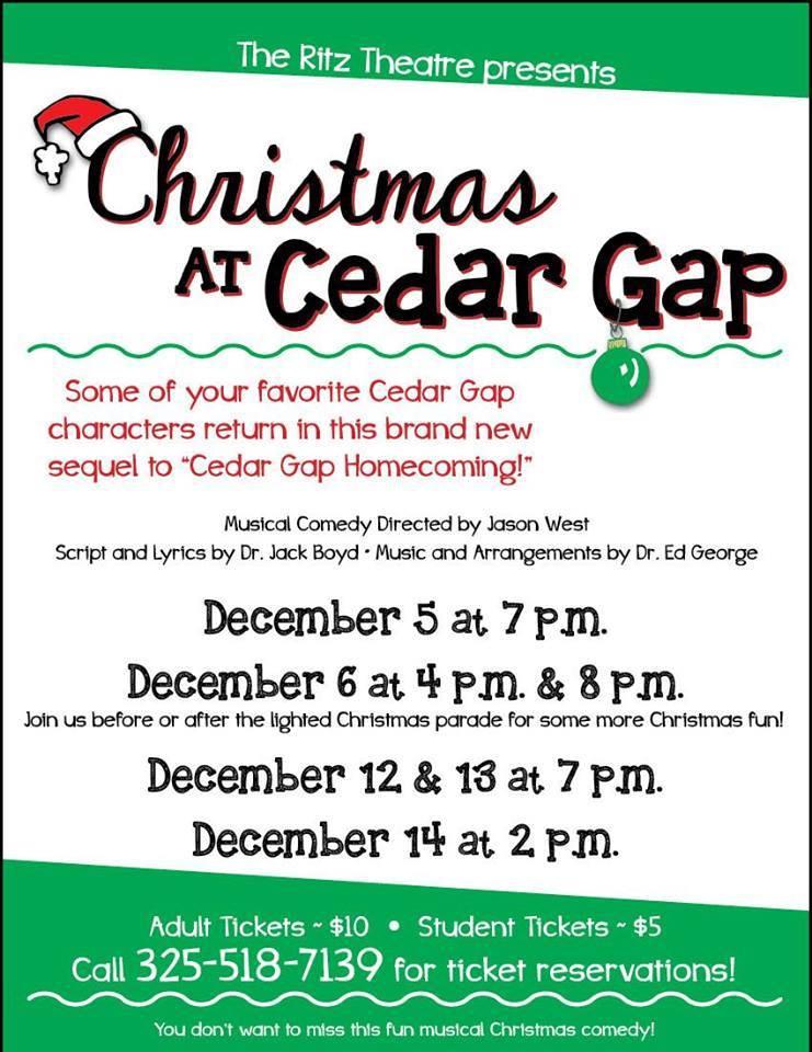 Christmas at Cedar Gap