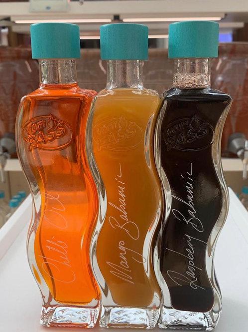Three Quadra Altra Ondra with Chilli Oil, Mango Balsam and Raspberry Balsam
