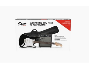 Fender Squier Stratocaster Pack Black Bundle