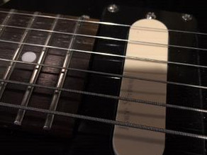 Convert your electric guitar to a Baritone...Sort of...