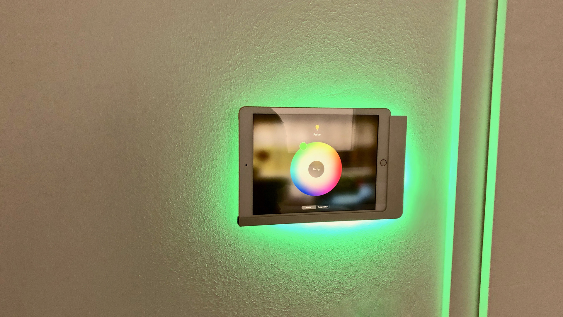 Die Weltweit erste beleuchtete Wandhalterung - Viveroo Free Wandhalterungen & FOS Intelligent Light Automation