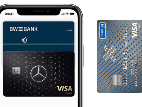 Apple Pay: N26 Digitalkarte, PayBack und MercedesCard kommen