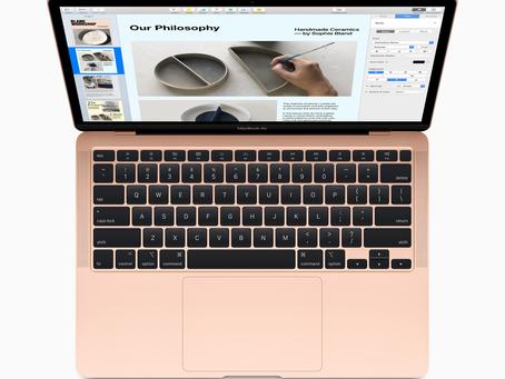 Das neue MacBook Air hat mehr zu bieten und ist für nur 1.199 Euro erhältlich
