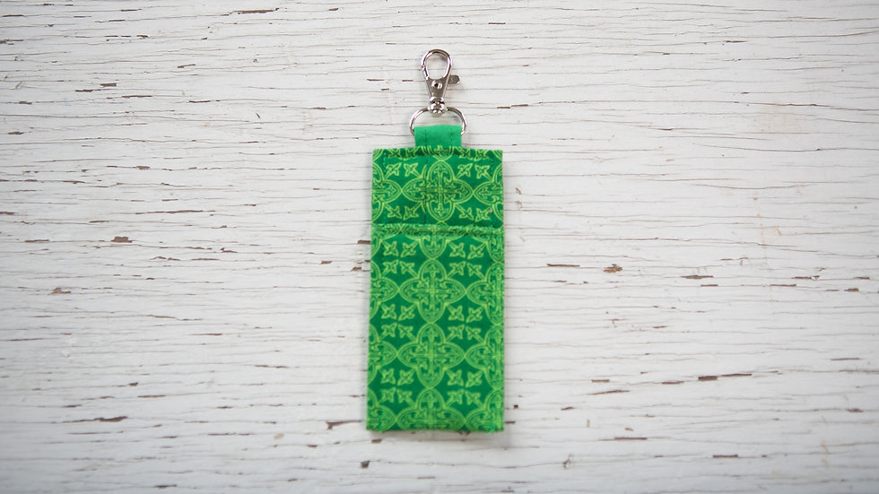 Green Celtic Hand Sanitizer Pouch