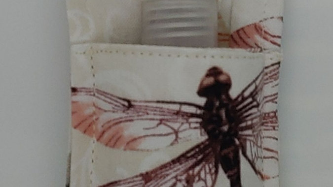Dragonfly hand sanitizer holder