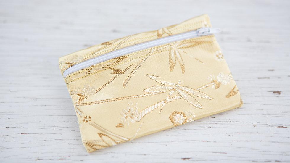 Golden Dragonflies EO Pouch
