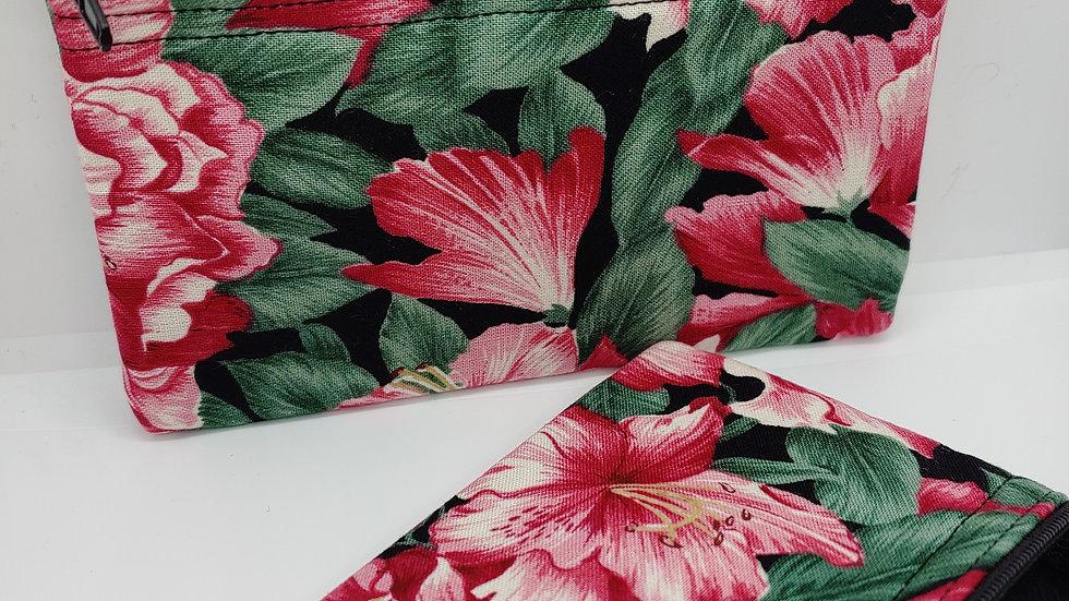 Dark pink azalia pouch