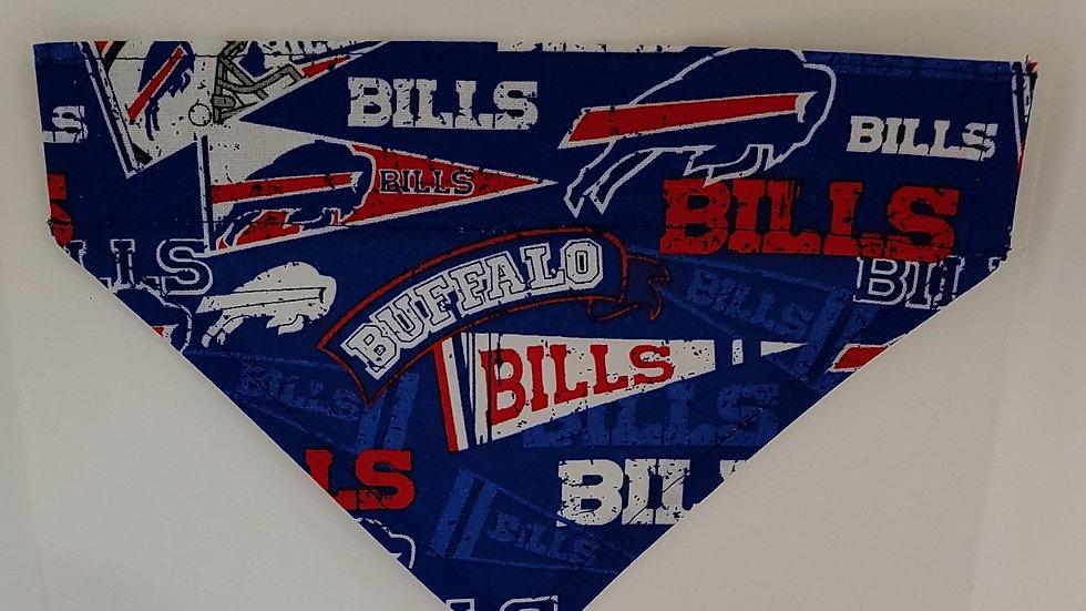 Small Dog Bandana in Buffalo Bills fabric