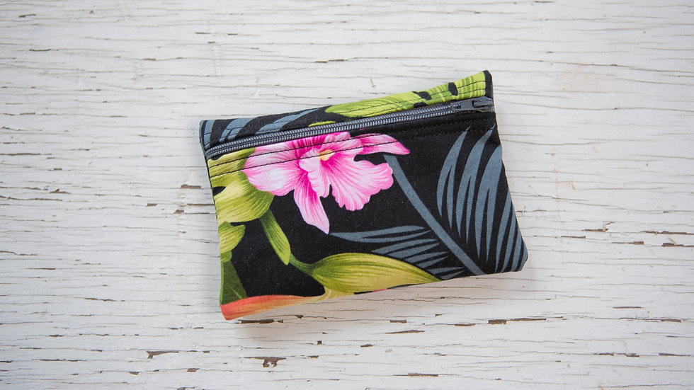 Midnight Floral EO Pouch