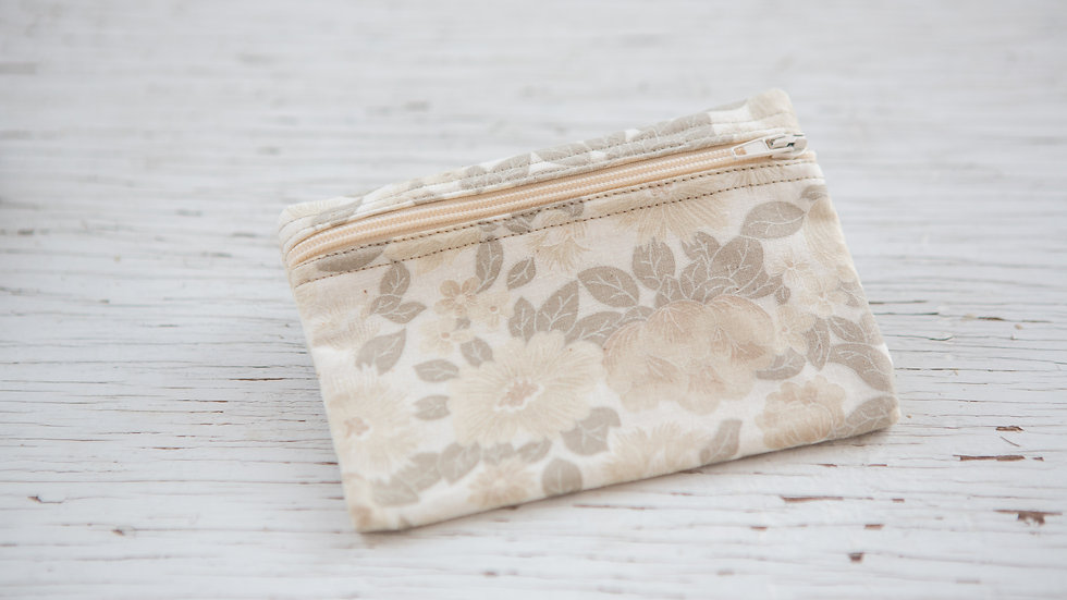 Subdued Flowers EO Pouch
