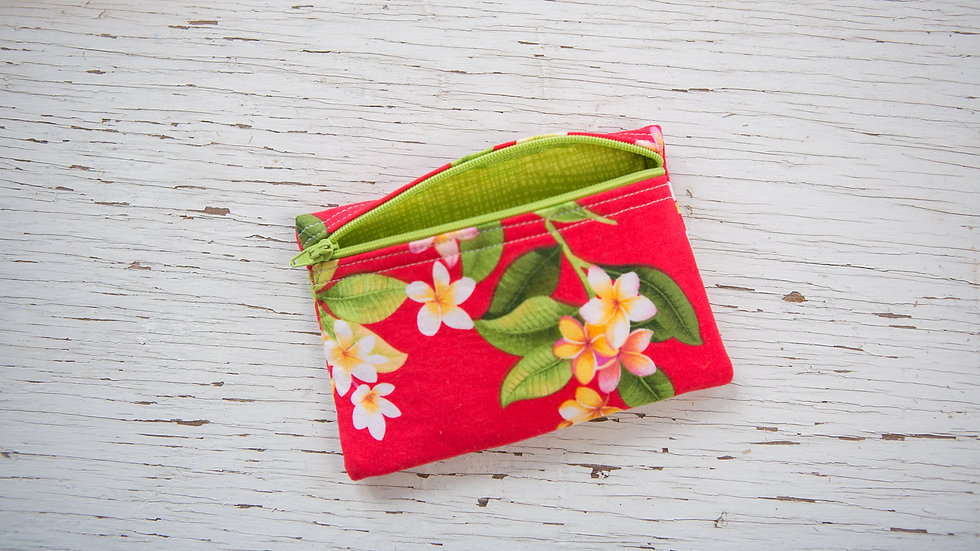 Tropical Floral EO Pouch
