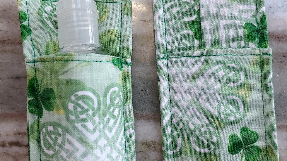 Celtic hand sanitizer holder