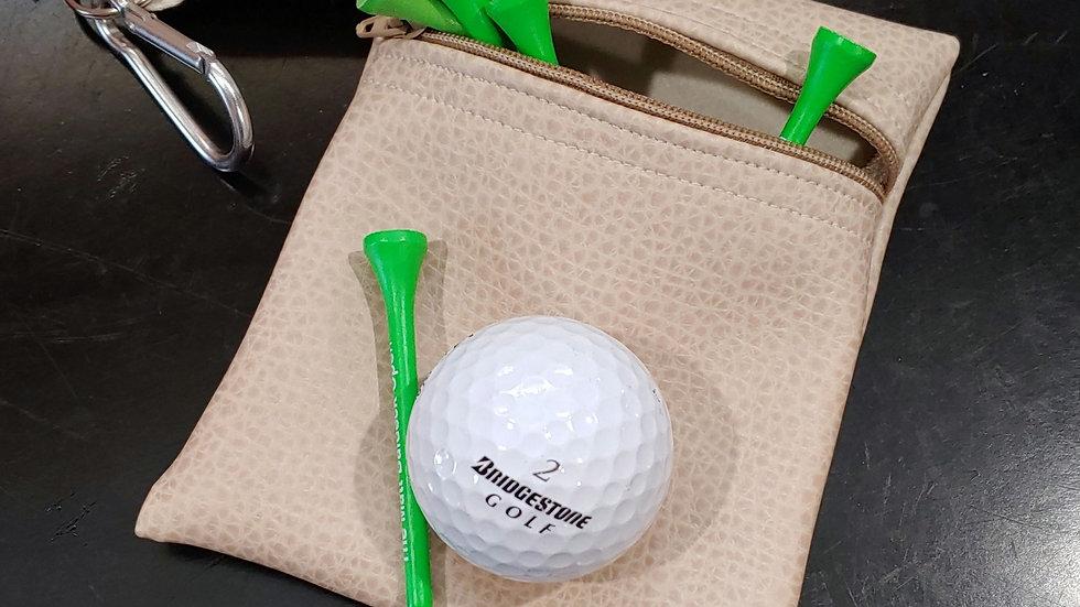 Golf tee pouch