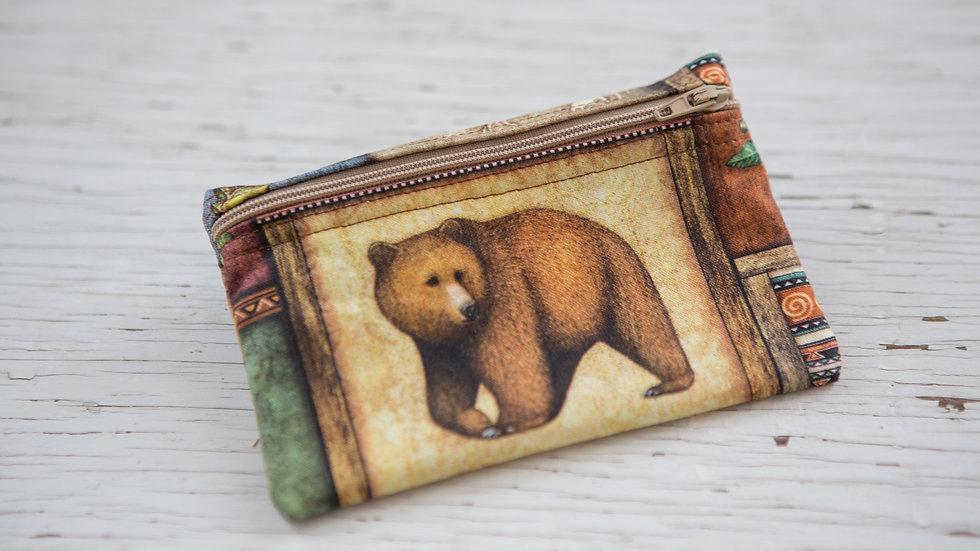 Brown Bear EO Pouch