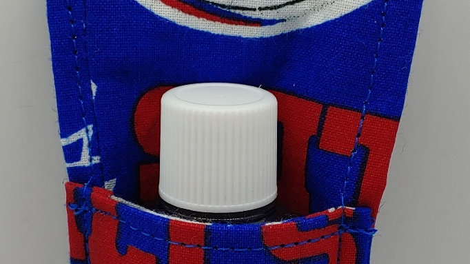 Buffalo Bills hand sanitizer holder