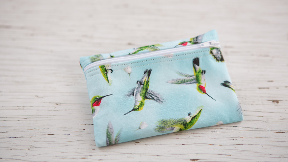 Hummingbirds Galore Pouch